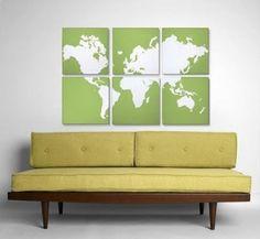 atlas wall art, 6 pieces by StarMeKitten