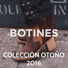 Las mejores marcas de calzado ya tienen sus colecciones de Otoño en Berminelli. #Mustang
