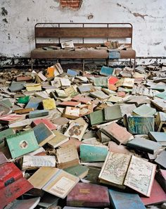 Abandoned Mansions, Abandoned Buildings, Abandoned Places, Abandoned Library, Abandoned Hospital, Places In New York, Places To Go, Dark Places, Ville New York