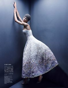 aymeline valade by patrick demarchelier for vogue japan