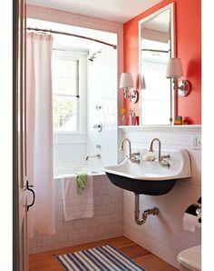 Traditional Home Bathroom- Home and Garden Design Ideas