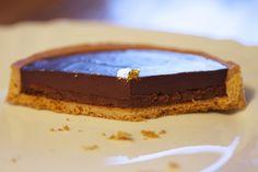 recette de la tarte au chocolat noir