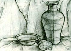 素描与素描造型能力-素描教程-美术分享