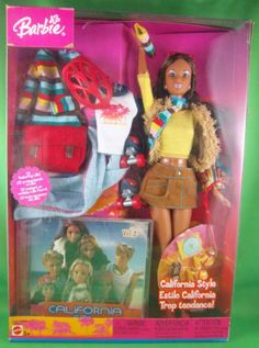 New Barbie Dolls, Barbie 80s, Barbie Dream, Barbie World, Barbie And Ken, Vintage Barbie, Barbie Clothes, Girl Barbie, Estilo California