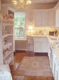 romantische keuken.