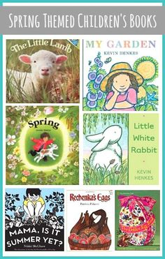 Our favorite picture books for kids about spring! ~ BuggyandBuddy.com