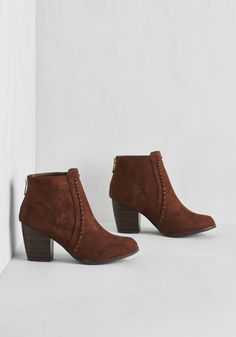 Joyful of Surprises Bootie - Tan, Tan / Cream, Embroidery, Casual, Boho, Festival, Summer, Fall, Mid, Faux Leather, Good, Ankle