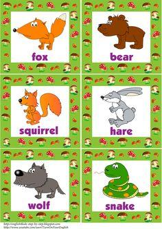 forest-animals-flashcards#words1#esl flashcards