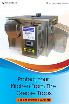 Have you installed Grease Guardian-the best solution for FOG in your kitchen. If not, then what are you waiting for, call us on 02830266616 to install. Drainage Pipe, Drip Coffee Maker, Grease, Waiting, How To Remove, Industrial, The Unit, Good Things, Kitchen