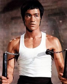 Bruce Lee, He inspires a new kind of genre in cinema, with the best art martials coreographies.