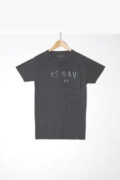 "Man t-shirt S|S ""Us Navy 45"""