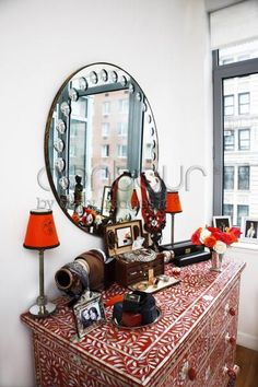 Downtown Oculus : Interior Loves: Olivia Palermo's Tribeca Apartment