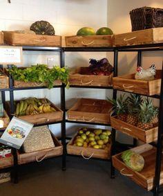 Pallets Vegetables Fruit Racking