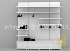 Closet minimal #1     www.ficare.com.mx