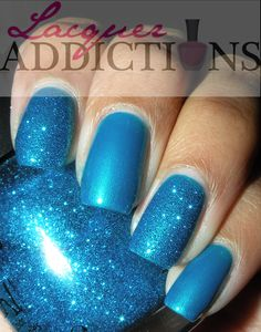 China Glaze- Sexy in the City. Lacquer Addictions nail blog.