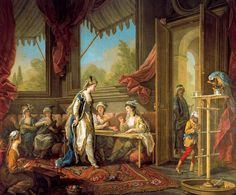 The Sultana Sets Work for the Odalisques (1763), Charles-André Van Loo