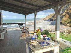 UKs beautiful rugged west coast and a remote seaside cottage on the island of Llanddwyn.
