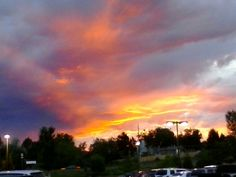 Littleton,  CO in Colorado. My home is here. With the bronco sunsets and the great people. I love my home. -Ally