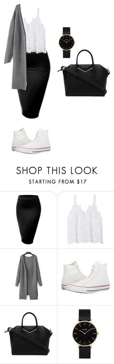 Untitled #69 by mayventu1999 on Polyvore featuring J.TOMSON, Converse, Givenchy and CLUSE