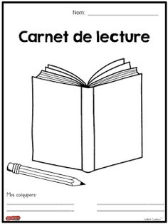 La classe de Madame Valérie: Carnet de lecture (modèle de base) French Teaching Resources, Teaching French, Daily 5 Stations, Read In French, Core French, French Classroom, French Teacher, French Immersion, Reading Response