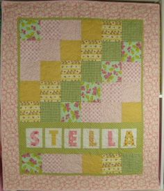 Personalized Quilt
