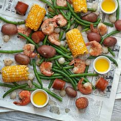 One pot is all you need for this easy Low-Country boil. We added green beans to the classic combination of potatoes, corn, shrimp and sausage to boost the veggie servings for a healthier crowd-pleasing meal.