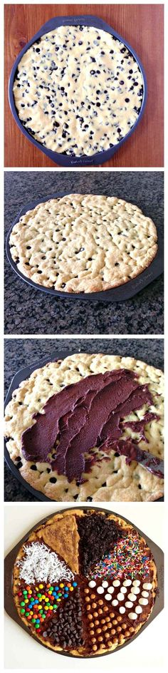 Cookie Pizza | 23 Life-Changing Ways To Eat Chocolate Chip Cookies