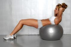 Flat and toned.