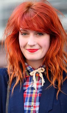 Florence + The Machine  'scuse me, can i have your hair?