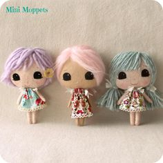 Mini Moppets pdf Pattern
