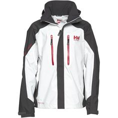 Buy Helly Hansen Mens Belfast Wintersport Helly Tech Jacket White/Ebony at MandM Direct