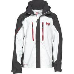"Helly Hansen Mens ""Belfast"" Wintersports Jacket White/Ebony. $124.00"