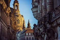 The Church of Our Lady in Dresden, a symbol of unity. #germany25reunified Enter the #InspiredBy Pinterest Contest for your chance to win a trip to Germany!