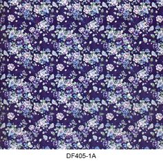 Hydro printing film flower pattern DF405-1A