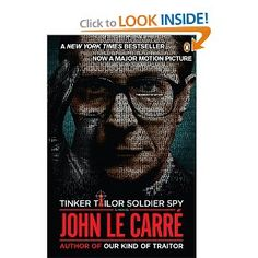 Book Review: Tinker Tailor Soldier Spy: A George Smiley Novel by John le Carré - This is a slow burn.  No fast action, bed hoping James Bond.  Smiley is a middle aged, over-weight, short spy.  His tools are his mind and perceptions, not his looks and his physique. Smiley was forced into retirement but is sought out to figure out who the moles is in the British spy network.  This is a confusing tangled book well worth reading. Click through for the longer review.