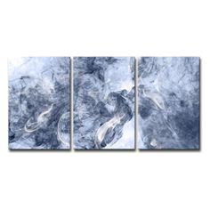 Ready2HangArt Glitzy Mist XXV Canvas Wall Art Set - SMK29-MW1812TP