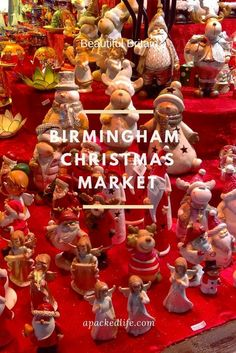 Celebrating at the Birmingham Christmas Market