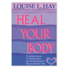 "8940 - ""Heal Your Body"" by Louise L. Hay"