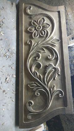 Single Door Design, Wooden Front Door Design, Wooden Doors, Wood Art Panels, Wood Panel Walls, Wood Carving Designs, Wood Carving Patterns, Wooden Dining Table Designs, Temple Design For Home