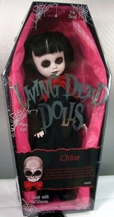 Amazon.com: Mezco Toyz Living Dead Dolls Series 12 Chloe: Toys & Games