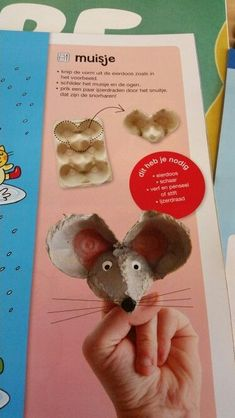 Breathtaking tinkerBreathtaking Kesselflicker AMAZING Egg Carton Crafts - How Wee LearnThe somewhat different lucky charm .Fuchs & Maus egg carton - homemade - amp egg carton fox mouse self . Toddler Crafts, Toddler Activities, Diy And Crafts, Crafts For Kids, Egg Carton Art, Egg Carton Crafts, Egg Cartons, Projects For Kids, Diy For Kids