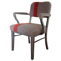 Idea to recover the two metal vintage office chairs I picked up 3 years ago and still haven't done anything with yet...