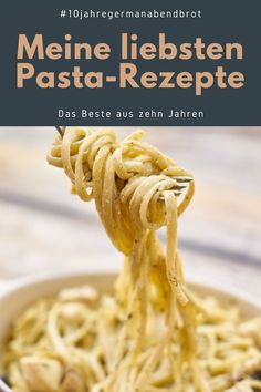 Meine liebsten Pasta-Rezepte Creamy Garlic Pasta, Parmesan Pasta, Pasta Carbonara, Egg Pasta Sauce, Italian Pasta Dishes, Bastilla, Cheese Recipes, Pasta Recipes, Other Recipes