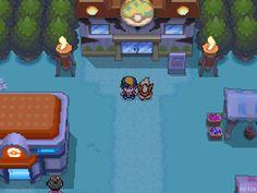 Pokemon HGSS Safari Zone Gate