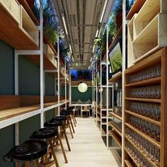 Elements of Fastvinic Cafe by Alfons Tost are Designed to Be Recycled #architechture trendhunter.com