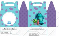 Monster Inc Party, Monster University Party, Monster Inc Birthday, Summer Fest, Unicorn Birthday Invitations, Pop Up Art, Paper Dolls, 2nd Birthday, Projects To Try