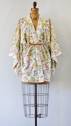 vintage SOLEIL IMPRESSIONIST kimono