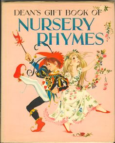 Dean's Gift Book of Nursery Rhymes Dean & Sons  1965