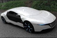 The Audi A9 Concept Car That Repairs Itself And Changes Body Colour!