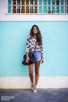 Rio de Janeiro Street Style #Brazil #fashion